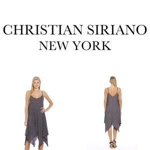 Christian Siriano New York Trapeze Knit Dress